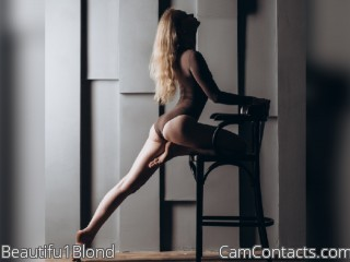 Webcam model Beautifu1Blond from CamContacts