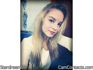 Webcam model Stardream01 from CamContacts