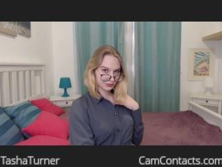 Webcam model TashaTurner from CamContacts