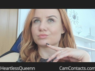 Webcam model HeartlessQueenn from CamContacts