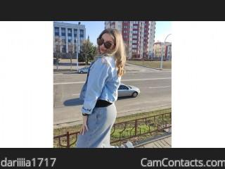 Webcam model dariiiia1717 from CamContacts
