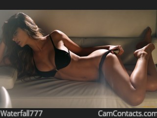 Webcam model Waterfall777 from CamContacts