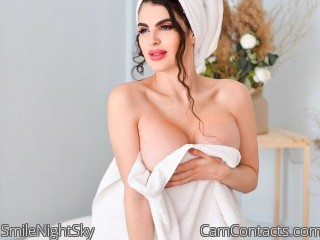 Webcam model SmileNightSky from CamContacts