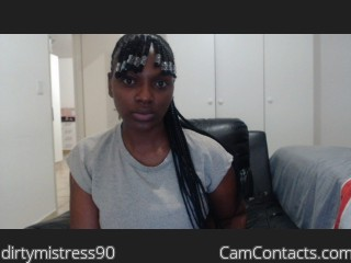 Webcam model dirtymistress90 from CamContacts