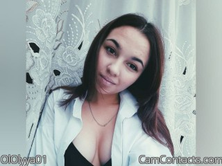 Webcam model OlOlyya01 from CamContacts