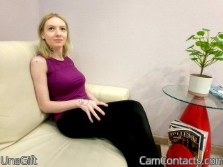 Webcam model UnaGift from CamContacts