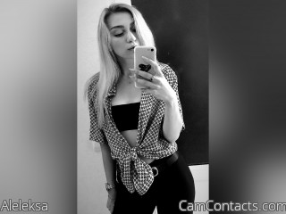 Webcam model Aleleksa from CamContacts
