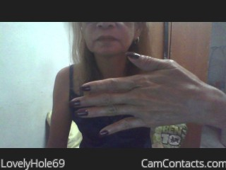 Webcam model LovelyHole69 from CamContacts