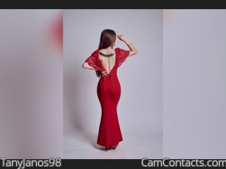 Webcam model TanyJanos98 from CamContacts