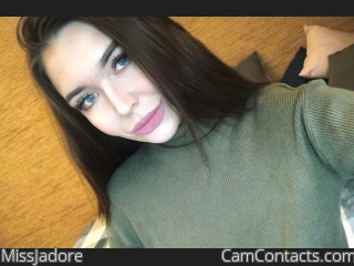 Webcam model MissJadore from CamContacts