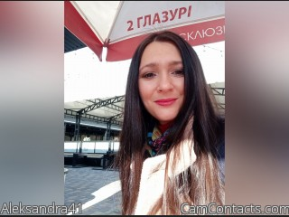 Webcam model Aleksandra41 from CamContacts