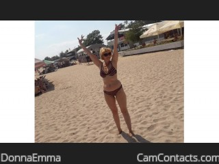 Webcam model DonnaEmma from CamContacts