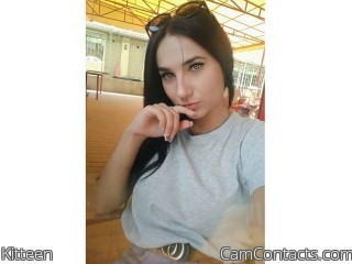 Webcam model Kitteen from CamContacts
