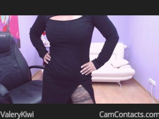 Webcam model ValeryKiwi from CamContacts