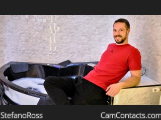 Webcam model StefanoRoss from CamContacts