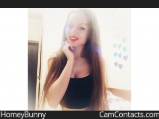 Webcam model HomeyBunny from CamContacts