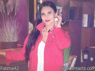 Webcam model Fatima42 from CamContacts