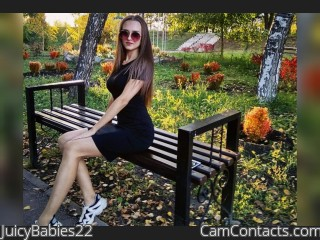 Webcam model JuicyBabies22 from CamContacts