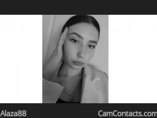 Webcam model Alaza88 from CamContacts