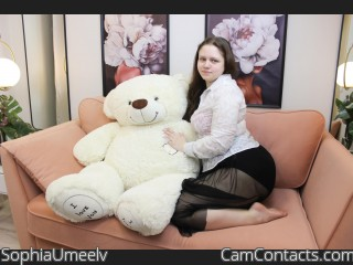 Webcam model SophiaUmeelv from CamContacts