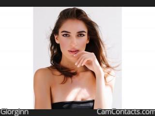 Webcam model Giorginn from CamContacts