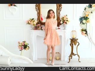Webcam model SunnyLadyy from CamContacts