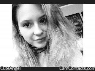Webcam model CuteAngeli from CamContacts