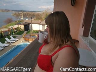 Webcam model MARGARETgem from CamContacts