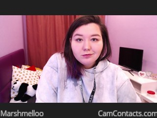 Webcam model Marshmelloo from CamContacts