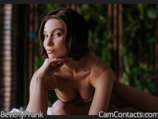Webcam model BeverlyFrank from CamContacts