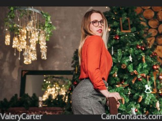 Webcam model ValeryCarter from CamContacts