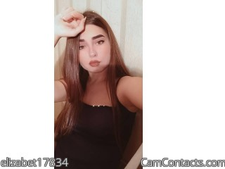 Webcam model elizabet17834 from CamContacts