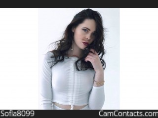 Webcam model Sofia8099 from CamContacts