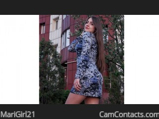 Webcam model MariGirl21 from CamContacts