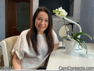 Webcam model Vikki21 from CamContacts
