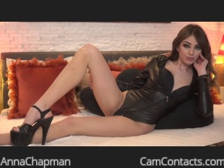 Webcam model AnnaChapman from CamContacts