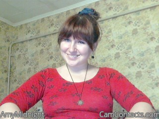 Webcam model AmyMidnight from CamContacts