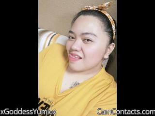 Webcam model xGoddessYumiex from CamContacts