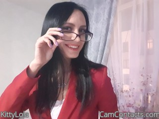 Webcam model KittyLola from CamContacts