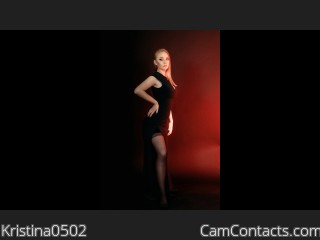 Webcam model Kristina0502 from CamContacts