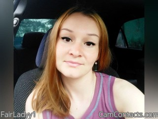 Webcam model FairLadyy1 from CamContacts
