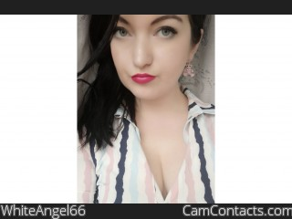 Webcam model WhiteAngel66 from CamContacts