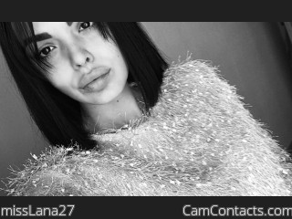 Webcam model missLana27 from CamContacts