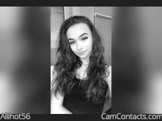 Webcam model Allihot56 from CamContacts