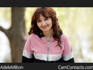 Webcam model AdeleMilton from CamContacts