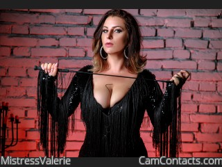 Webcam model MistressValerie from CamContacts
