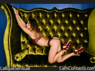 Webcam model LaliqueSensual from CamContacts