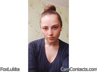 Webcam model FoxLukita from CamContacts