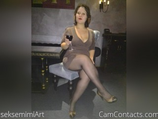 Webcam model seksemimiArt from CamContacts