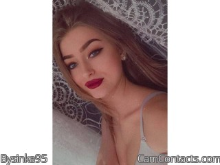 Webcam model Bysinka95 from CamContacts